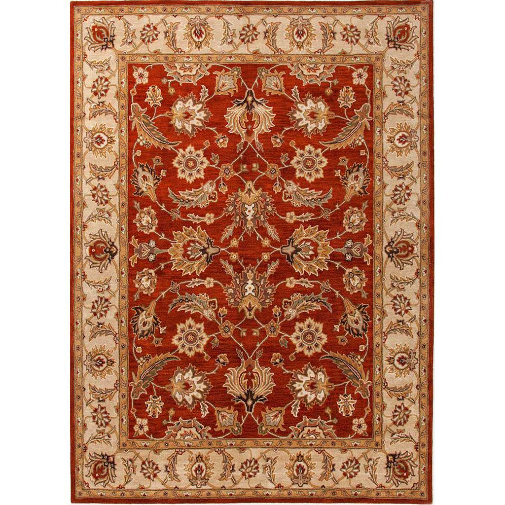 Mythos Selene Red Oxide/Sand Area Rug