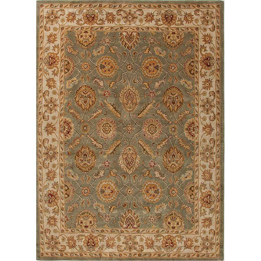 Mythos Callisto Sea Green/Light Gold Area Rug