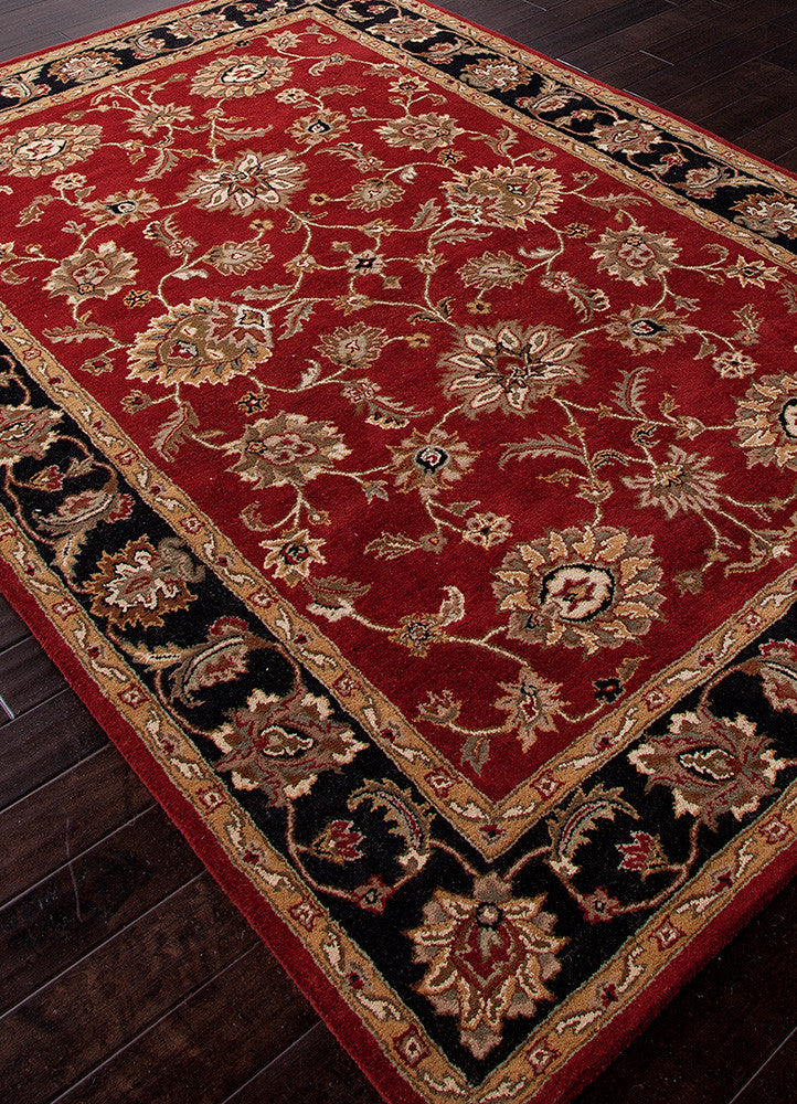 Mythos Anthea Red/Ebony Area Rug
