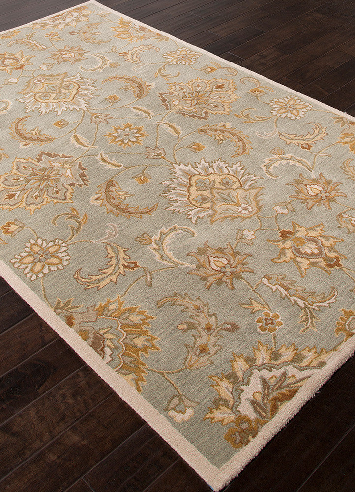 Mythos Abers Ice Blue/Antique White Area Rug