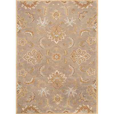 Mythos Abers Silver Gray/Soft Gold Area Rug
