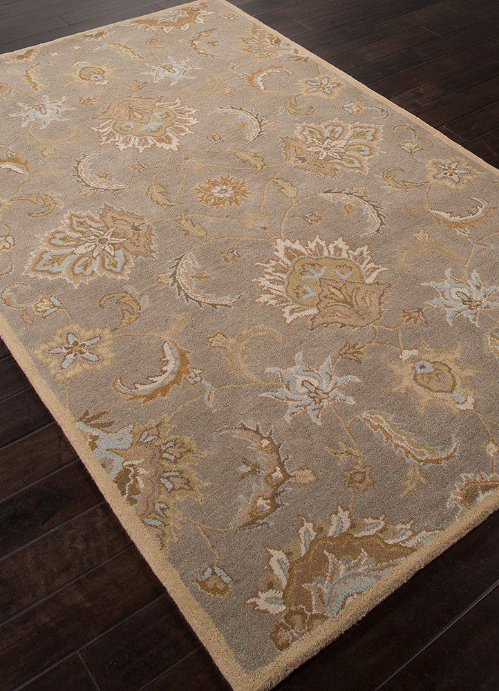 Mythos Abers Silver Gray Soft Gold Area Rug Froy