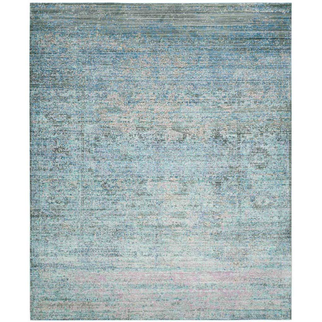Mystique Blue/Multi Area Rug