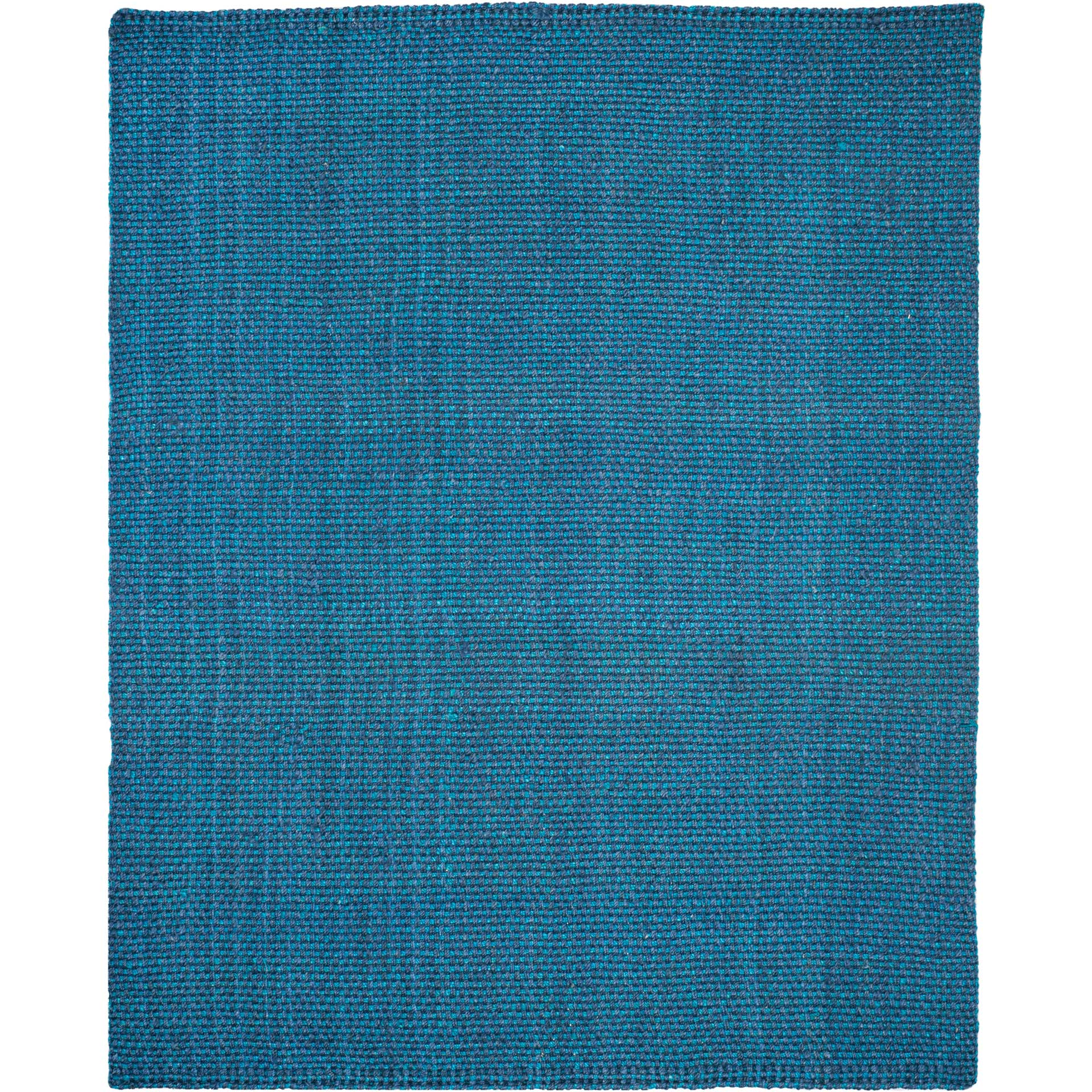 Natural Fiber Blue Area Rug