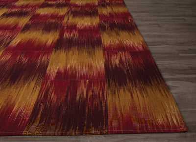 National Geographic Macaw Chili Powder/Bright Gold Area Rug