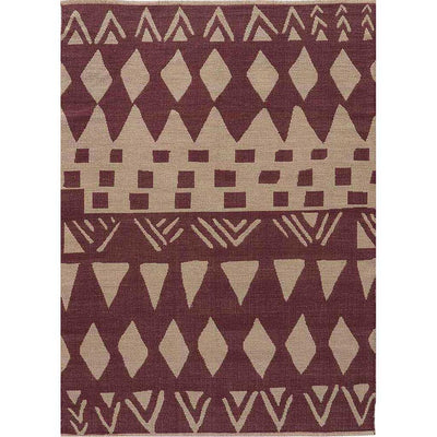 National Geographic Tiebele Purple Gray Area Rug Froy