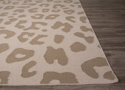 National Geographic Jaguar Fog/Silver Mink Area Rug