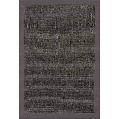 Naturals Palm Beach Chocolate Gray Area Rug