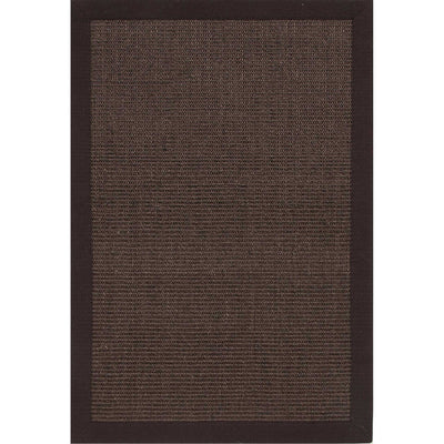 Naturals Palm Beach Coffee Brown Area Rug