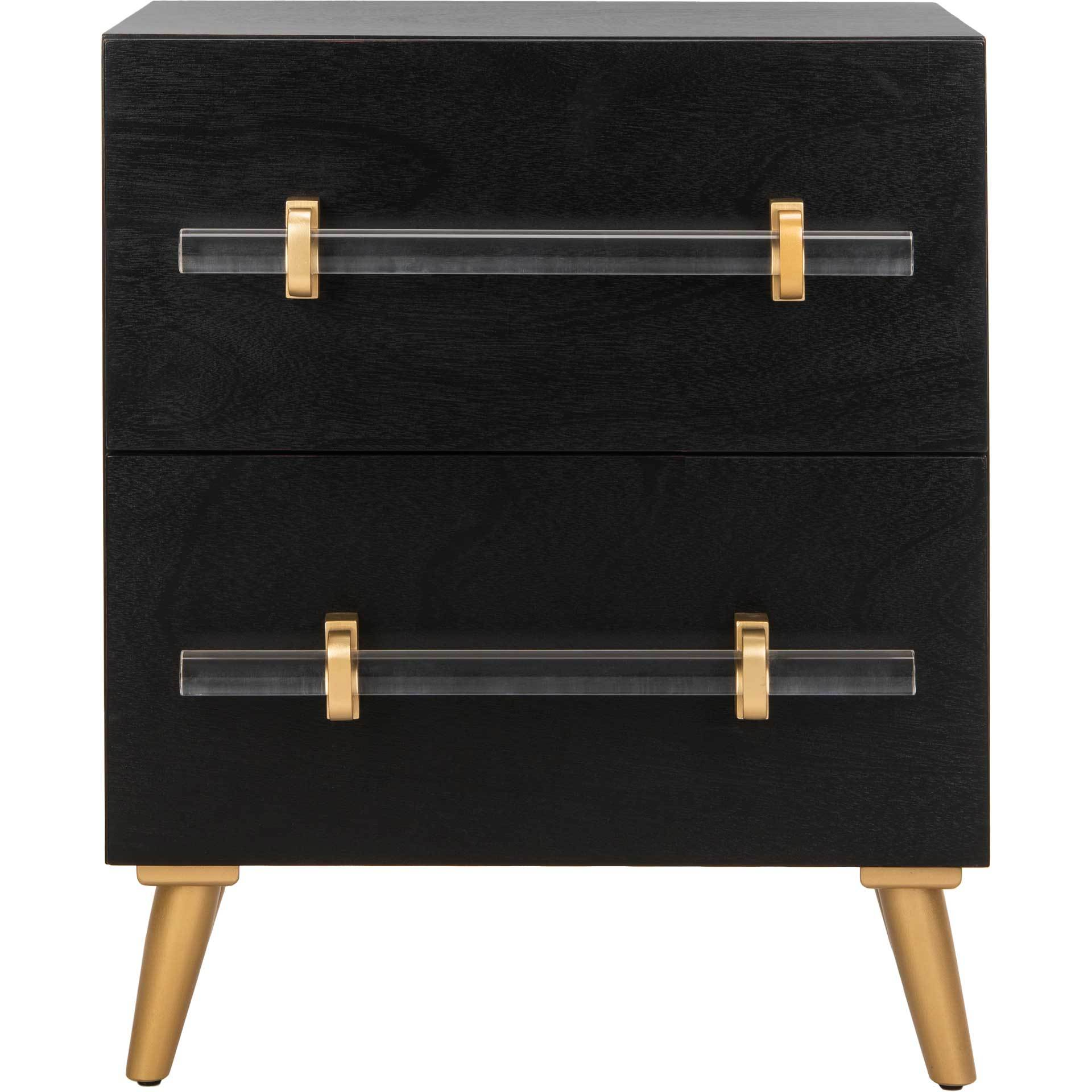 Sidney 2 Drawer Nightstand