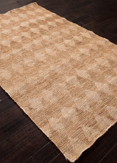 Naturals Diamonds Cloud White/Light Camel Area Rug