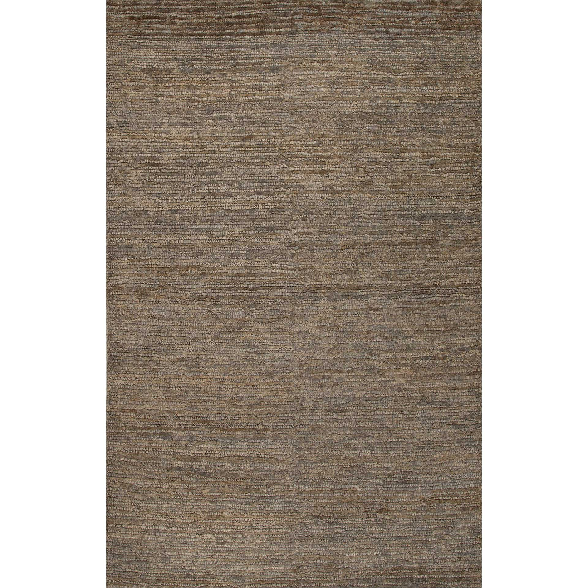 Naturals Mihaly Char Brown Area Rug