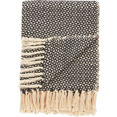 National Geographic Ng-26 Antique White/Peat Throw