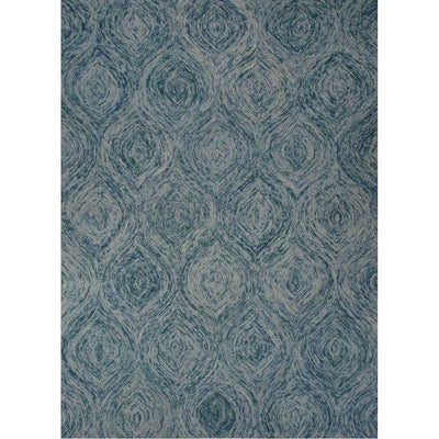 National Geographic Plume Mineral Blue/Green-Blue Slate Area Rug