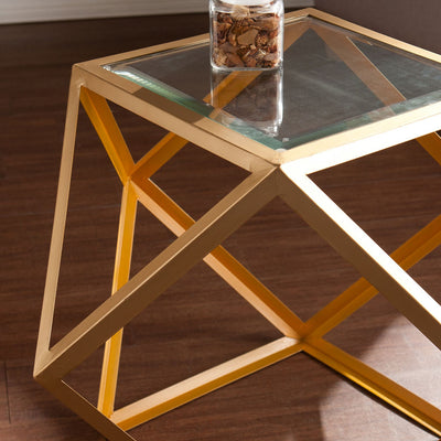 Janiston Accent Table Yellow/Champagne
