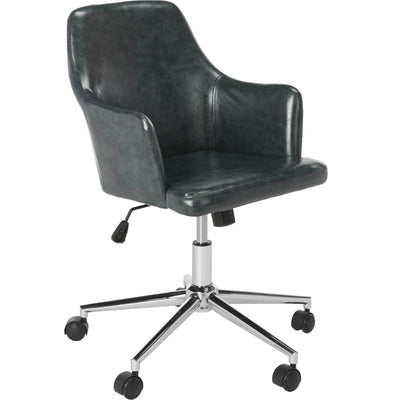 Caiden Swivel Office Chair Dark Gray