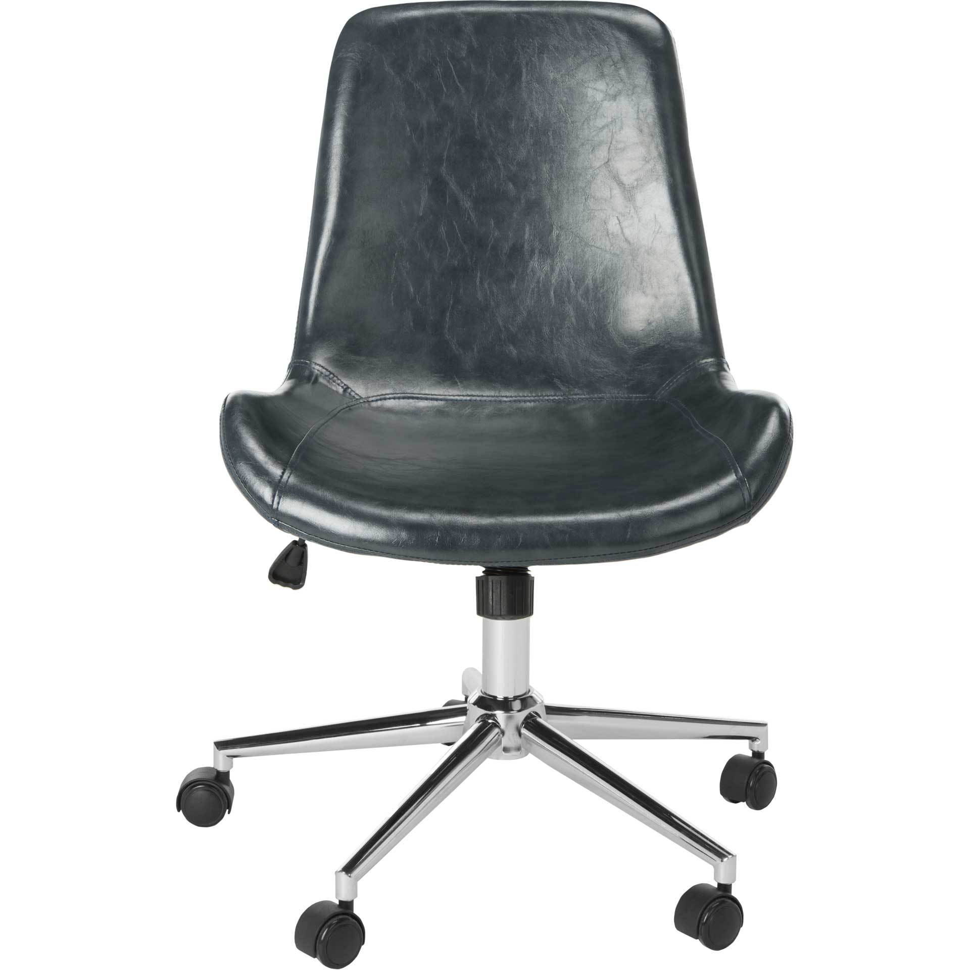 Flynn Swivel Office Chair Dark Gray