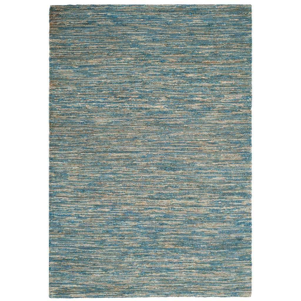 Organic Light Blue/Natural Area Rug