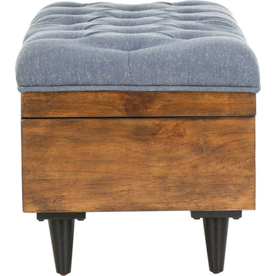 Lily Tufted Cocktail Ottoman