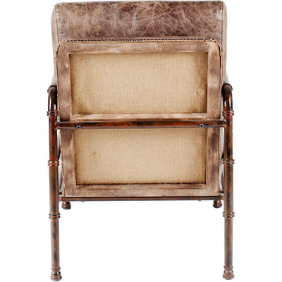 Liander Club Chair Light Brown