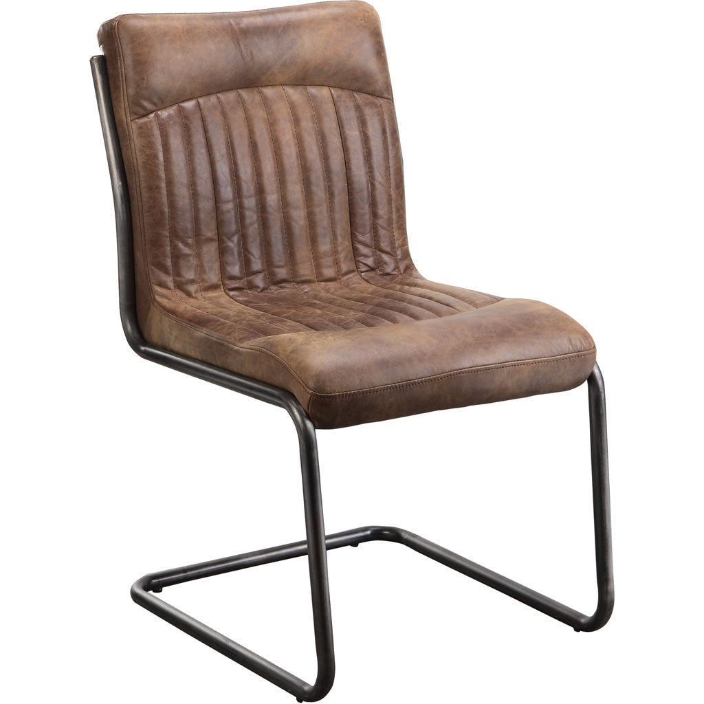 Adnan Dining Chair Light Brown (Set of 2)