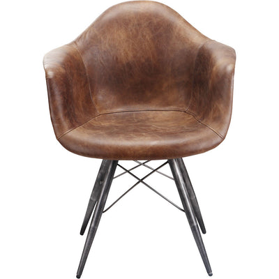 Fallon Club Chair Light Brown
