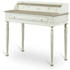 Angela French Accent Desk Distressed White