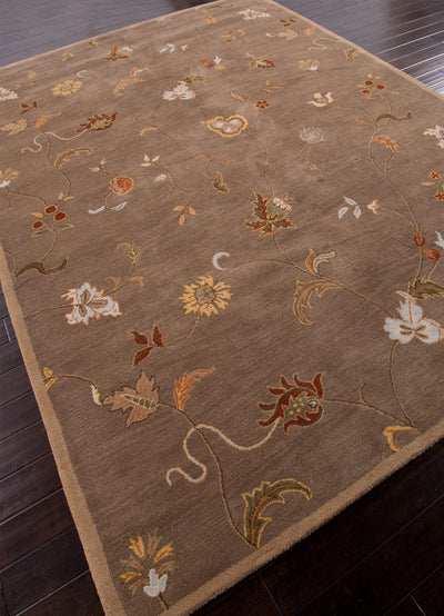 Poeme Alsace Gray Brown Area Rug