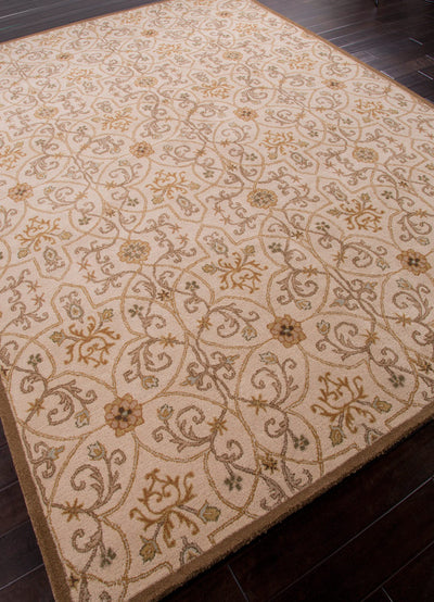 Poeme Calais Soft Gold Area Rug
