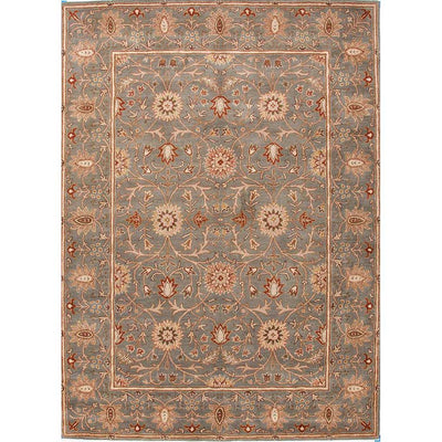 Poeme Rennes Sea Green Area Rug