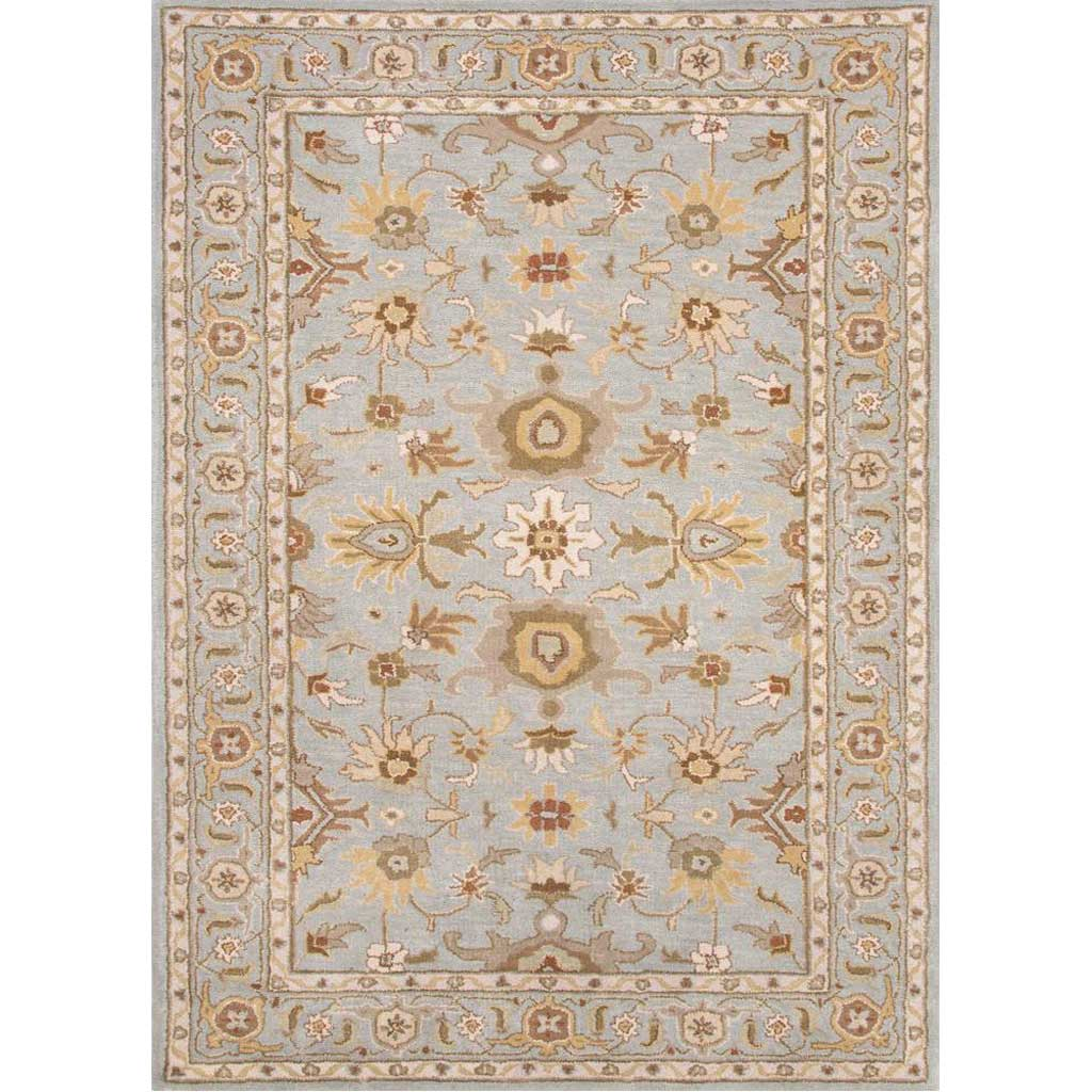 Poeme Abralin Sky Blue Area Rug