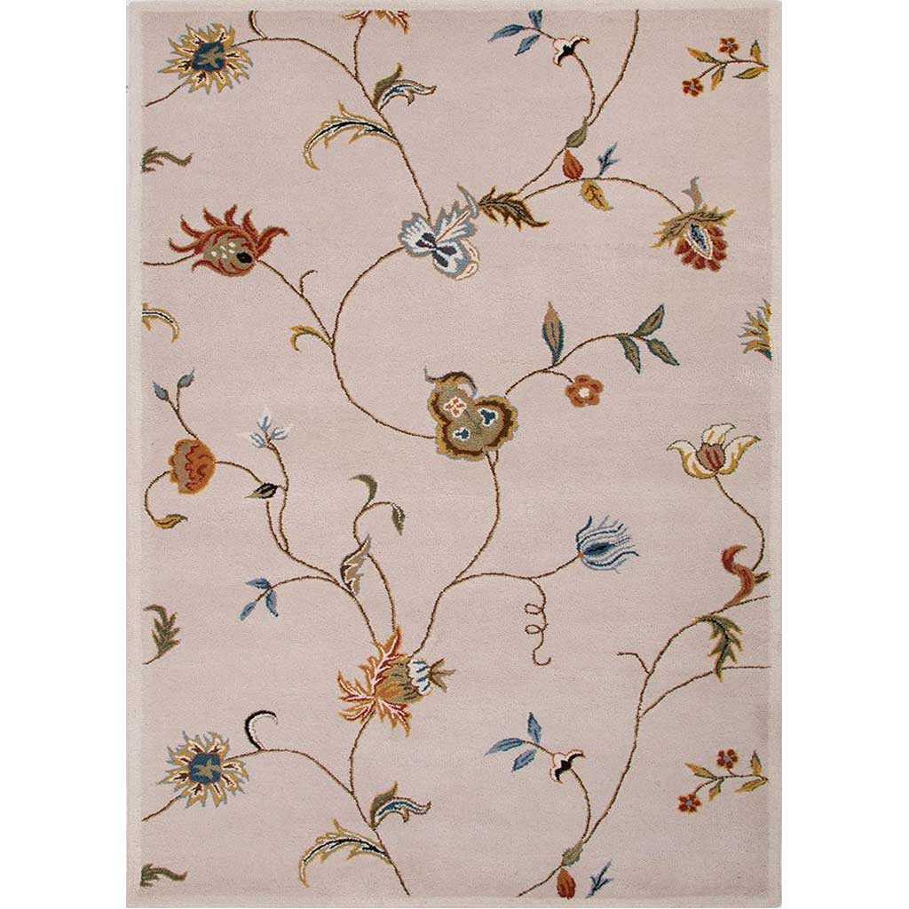 Poeme Alsace Antique White Area Rug