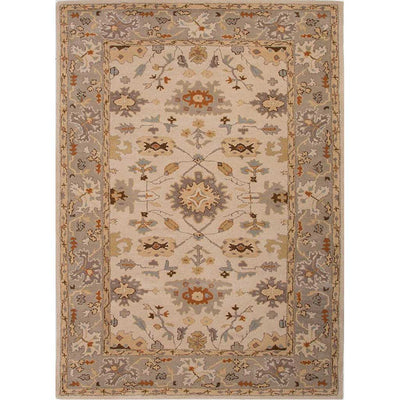 Poeme Maxine Cloud White/Silver Area Rug
