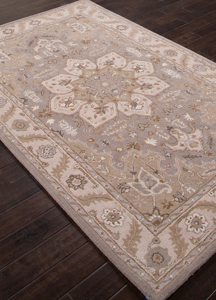 Poeme Orleans Drizzle/Spray Green Area Rug