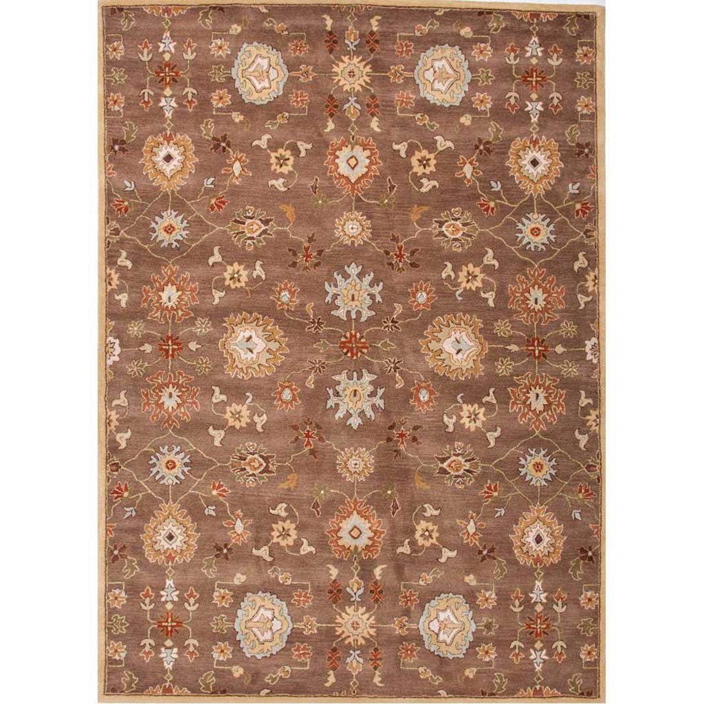 Poeme Nantes Gray Brown Area Rug