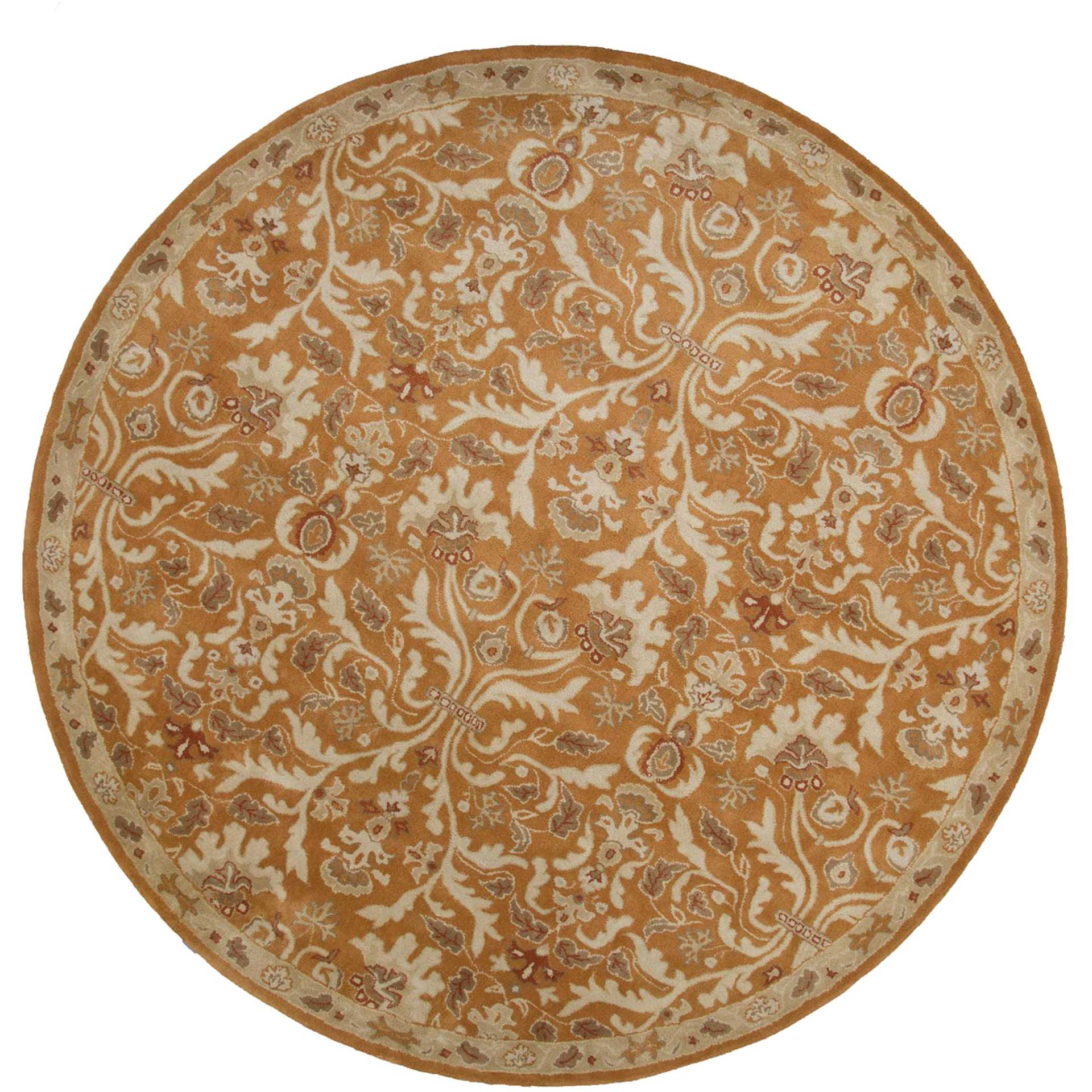 Poeme Corsica Amber Glow Round Rug