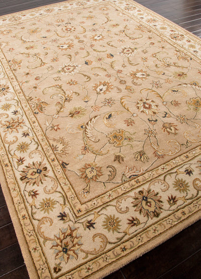 Poeme Normandy Dark Sand/Cloud White Area Rug