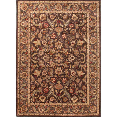 Poeme Gascony Dark Brown/Mushroom Area Rug