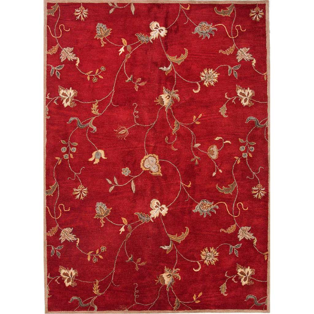Poeme Alsace Red Area Rug