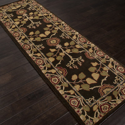 Poeme Rodez Deep Charcoal Runner Rug