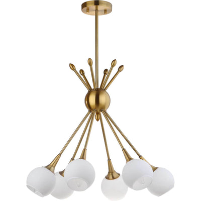 Judson Adjustable Pendant Brass Gold