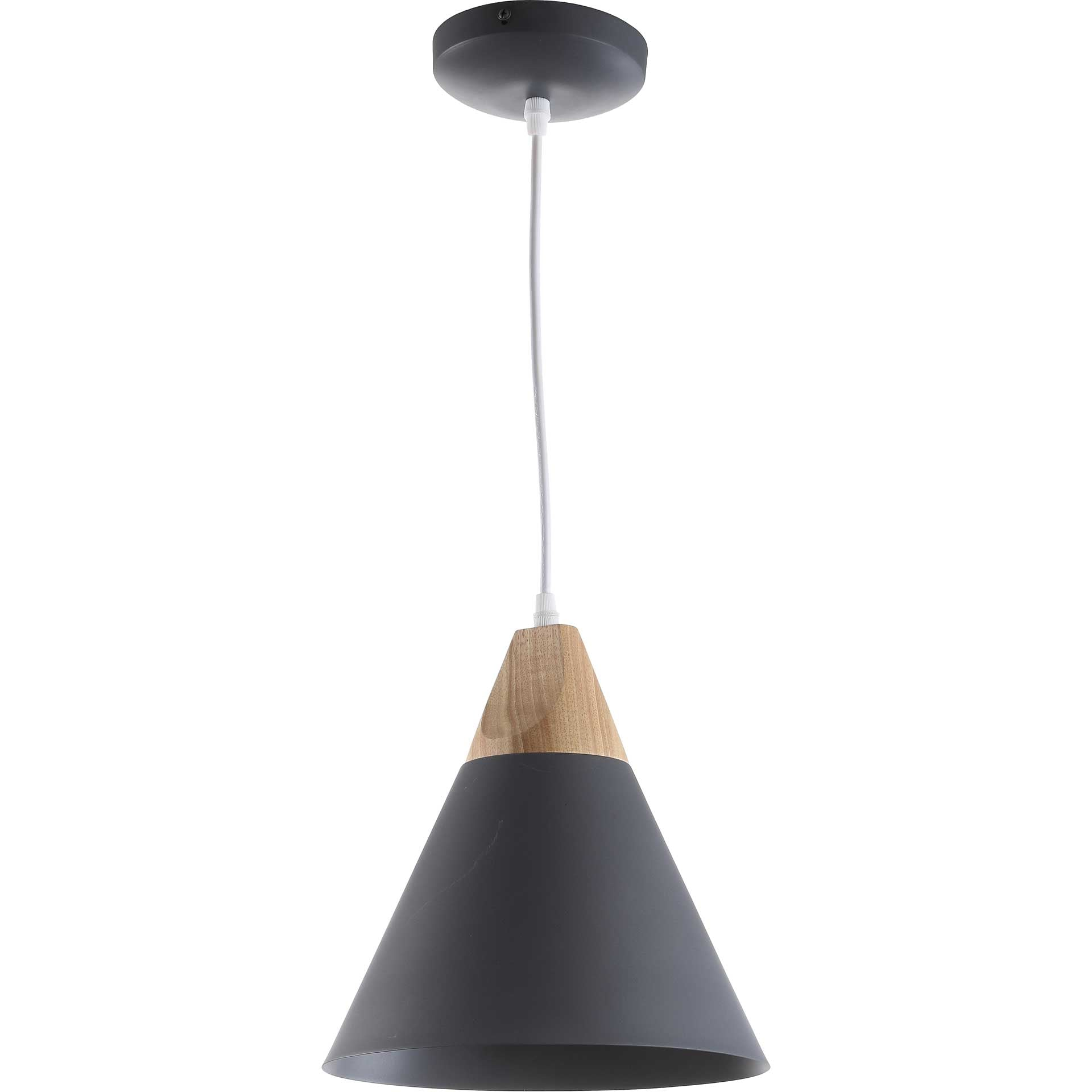 Cicely Pendant Dark Gray/Light Brown