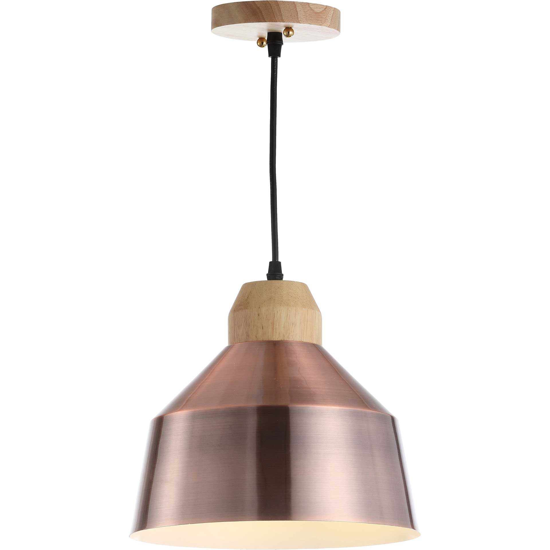 Damian Pendant Copper/Light Brown