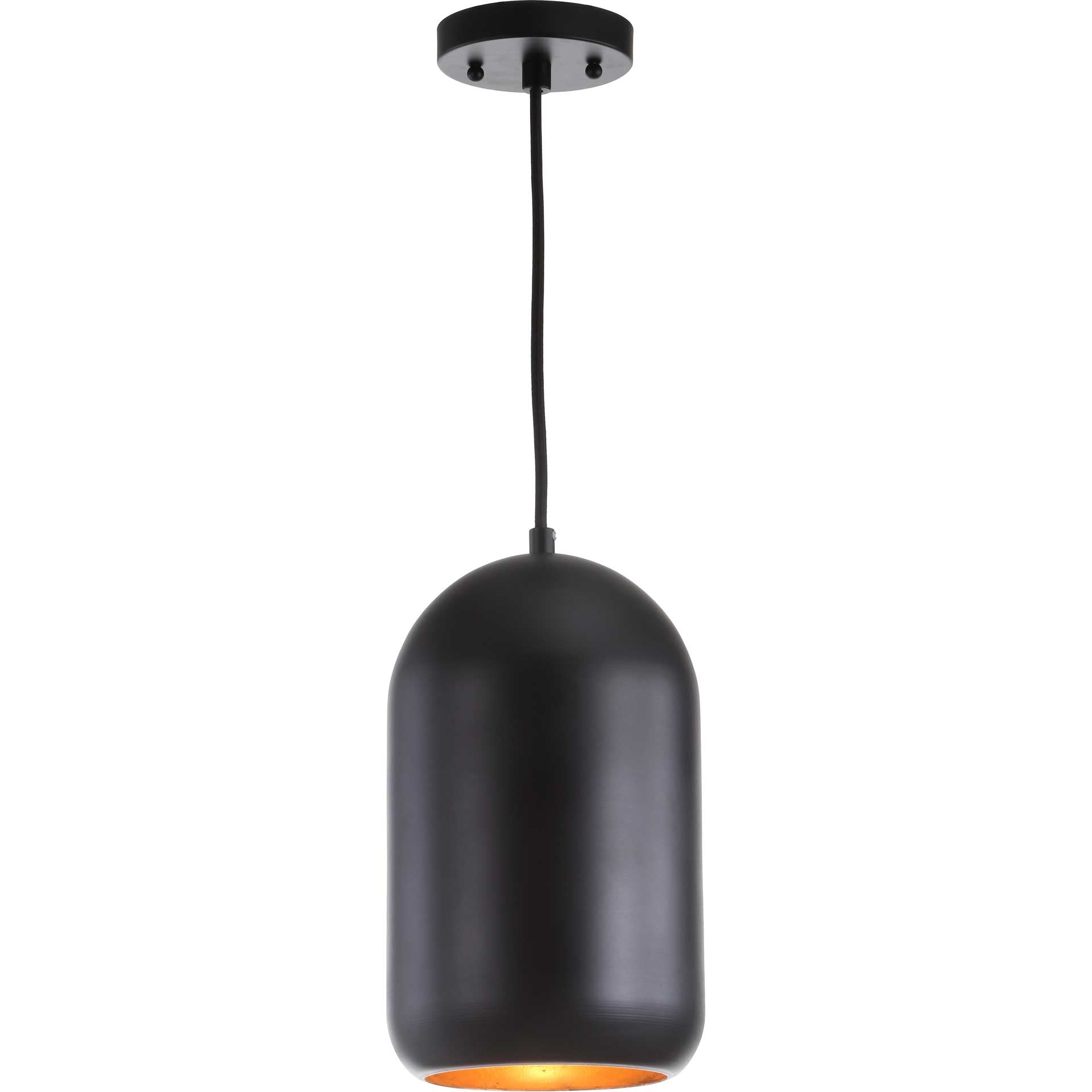 Camron Pendant Painted Black