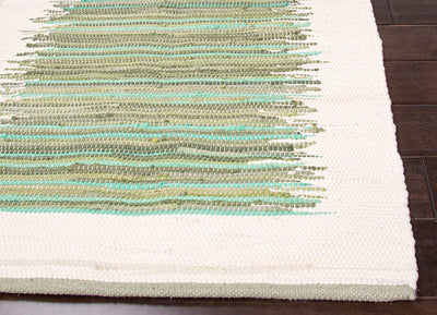 Prime Ellora Green/Ivory Area Rug