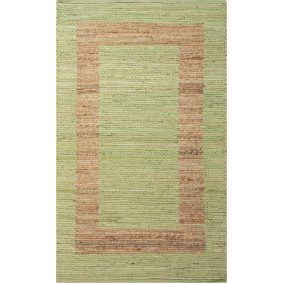 Prime Plus Pradesh Green Stripe/Natural Area Rug