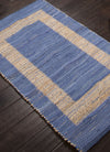 Prime Plus Pradesh Blue Stripe/Natural Area Rug
