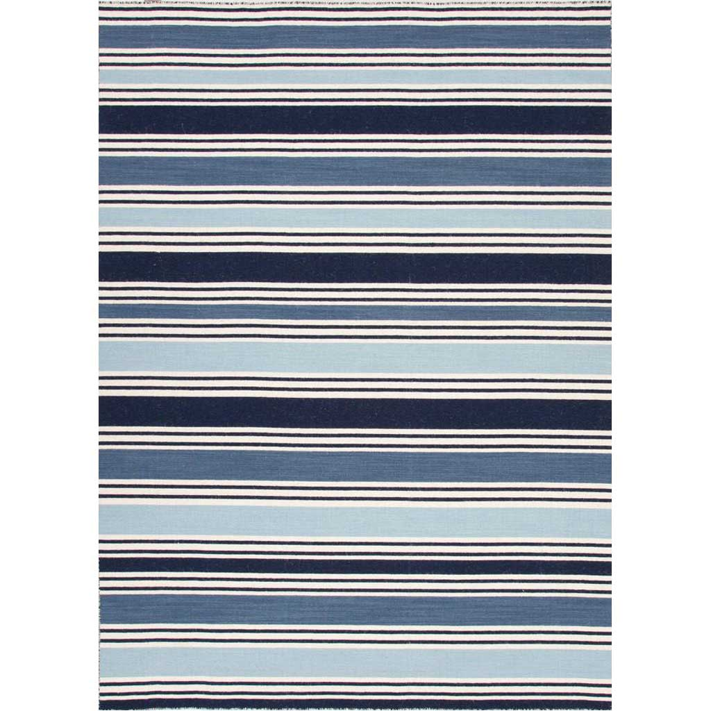 Pura Vida Salada Vanilla Ice/Dark Denim Area Rug