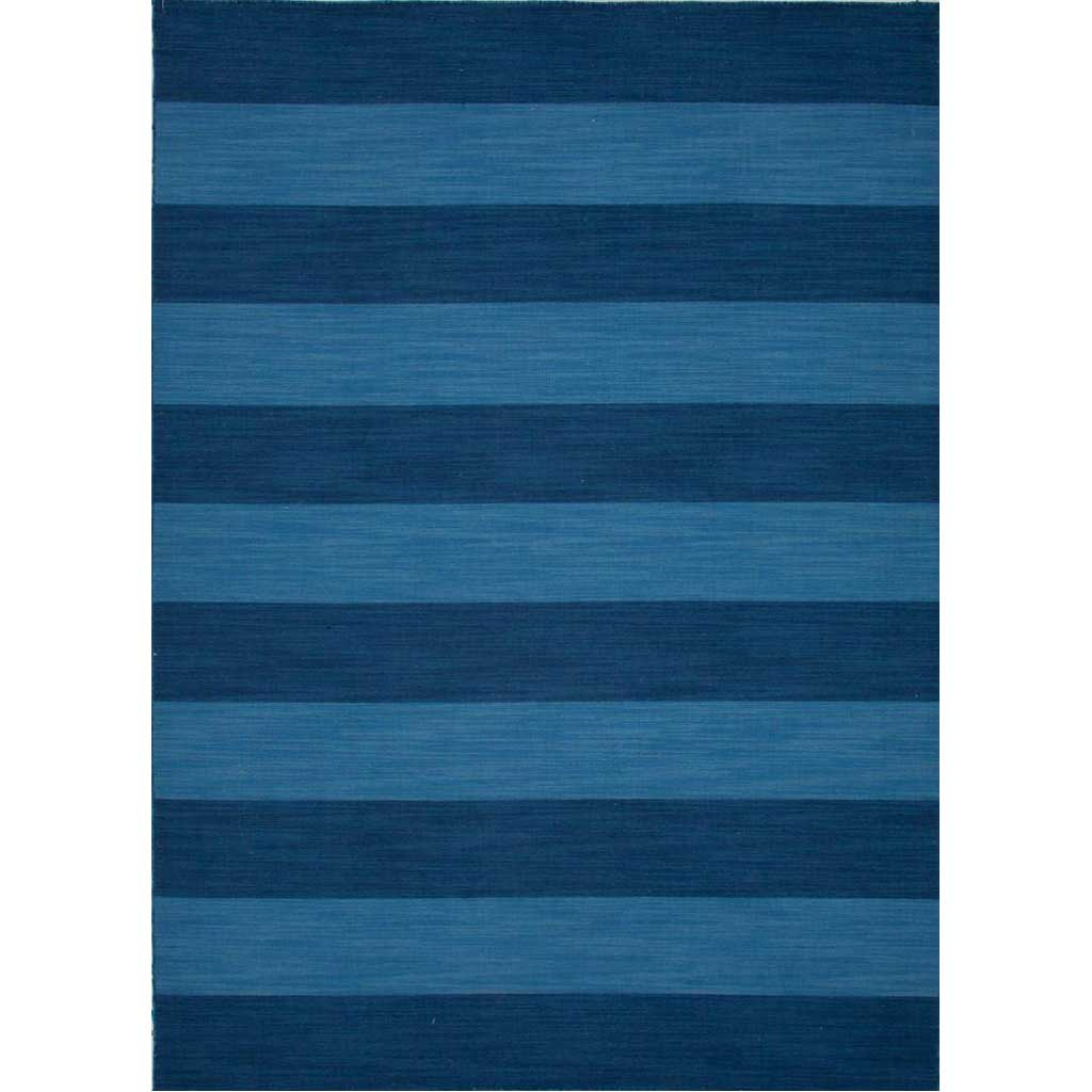 Pura Vida Tierra Evening Blue/Bermuda Blue Area Rug
