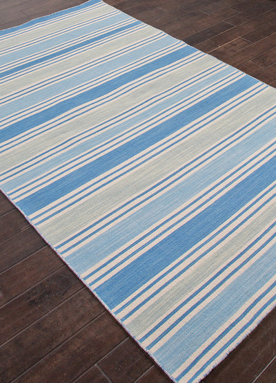 Pura Vida Salada Bermuda Blue/Angel Blue Area Rug